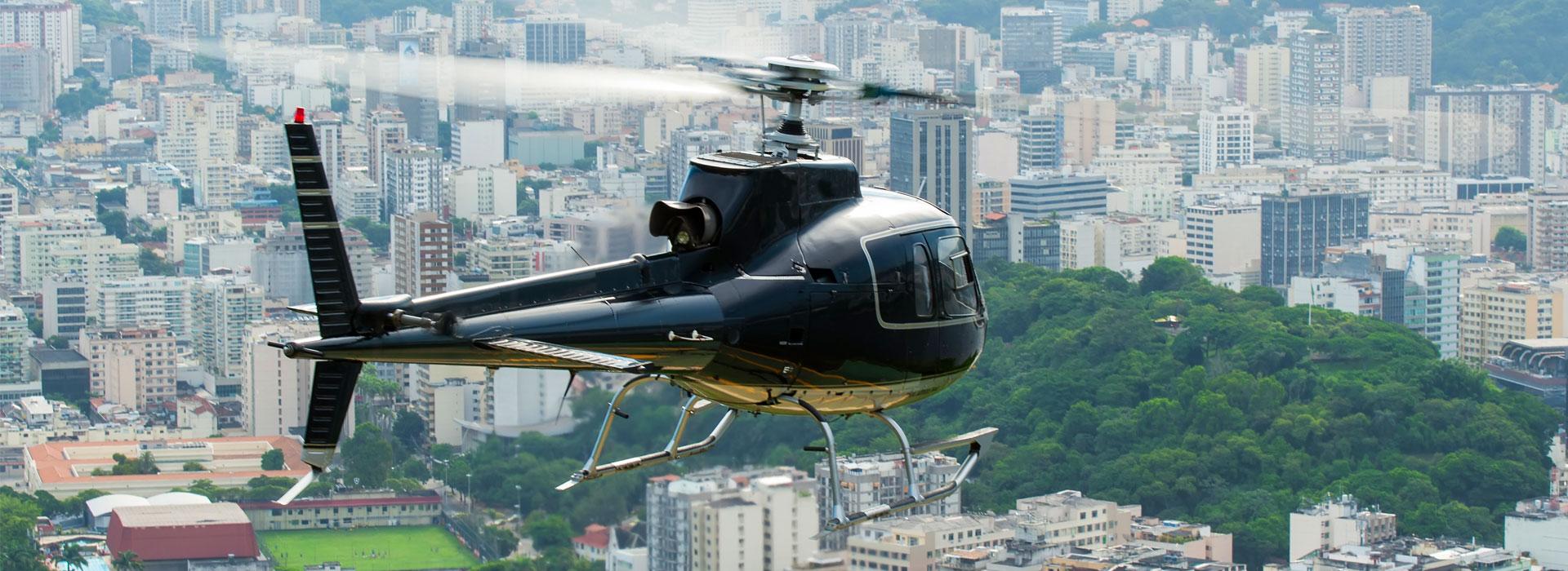 Une escapade en hélicoptère